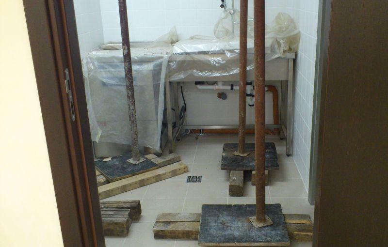укрепване на подовете